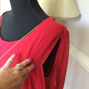 As U Wish Dresses - NWT Red Dress